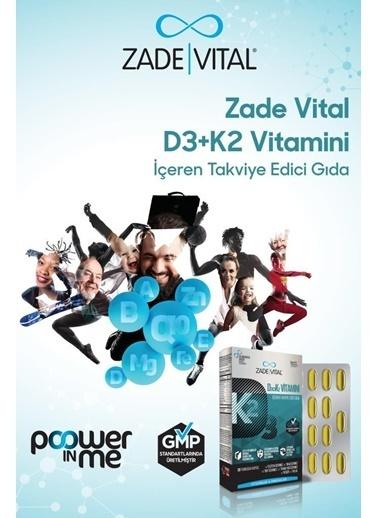 Zade Vital Zade Vital D3 + K2 Vitamini İçeren Takviye Edici Gida 30 Yumuşak Kapsül Renksiz